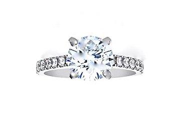 Bague diamants La Fiancee de Cameo