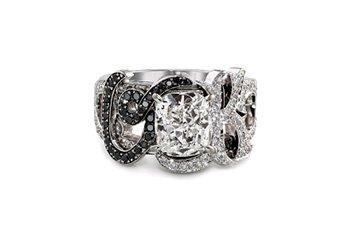 Bague Tu es mon Initiale en diamant de Cameo