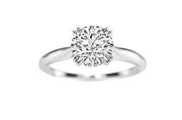 Solitaire diamant taille brillant de Cameo